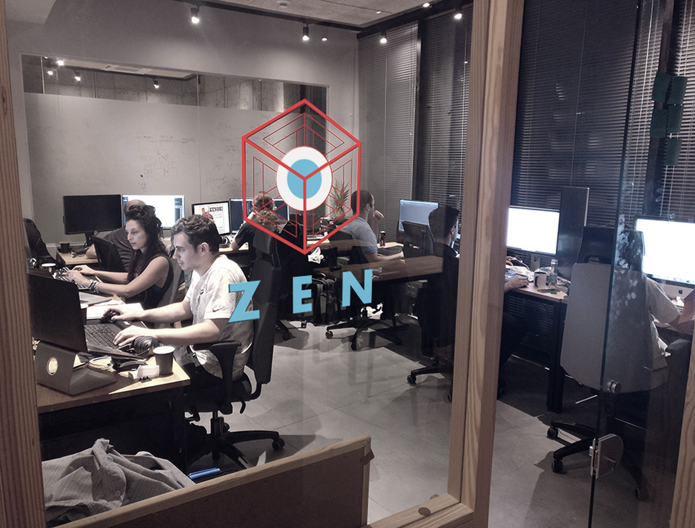Zen protocol team in office