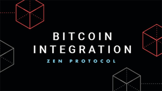 Zen bitcoin integration